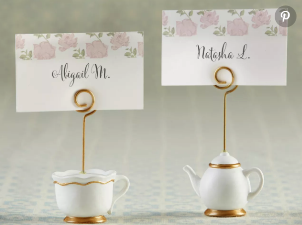 porte carte mariage champetre chic
