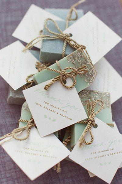 cadeau invité mariage ete savon