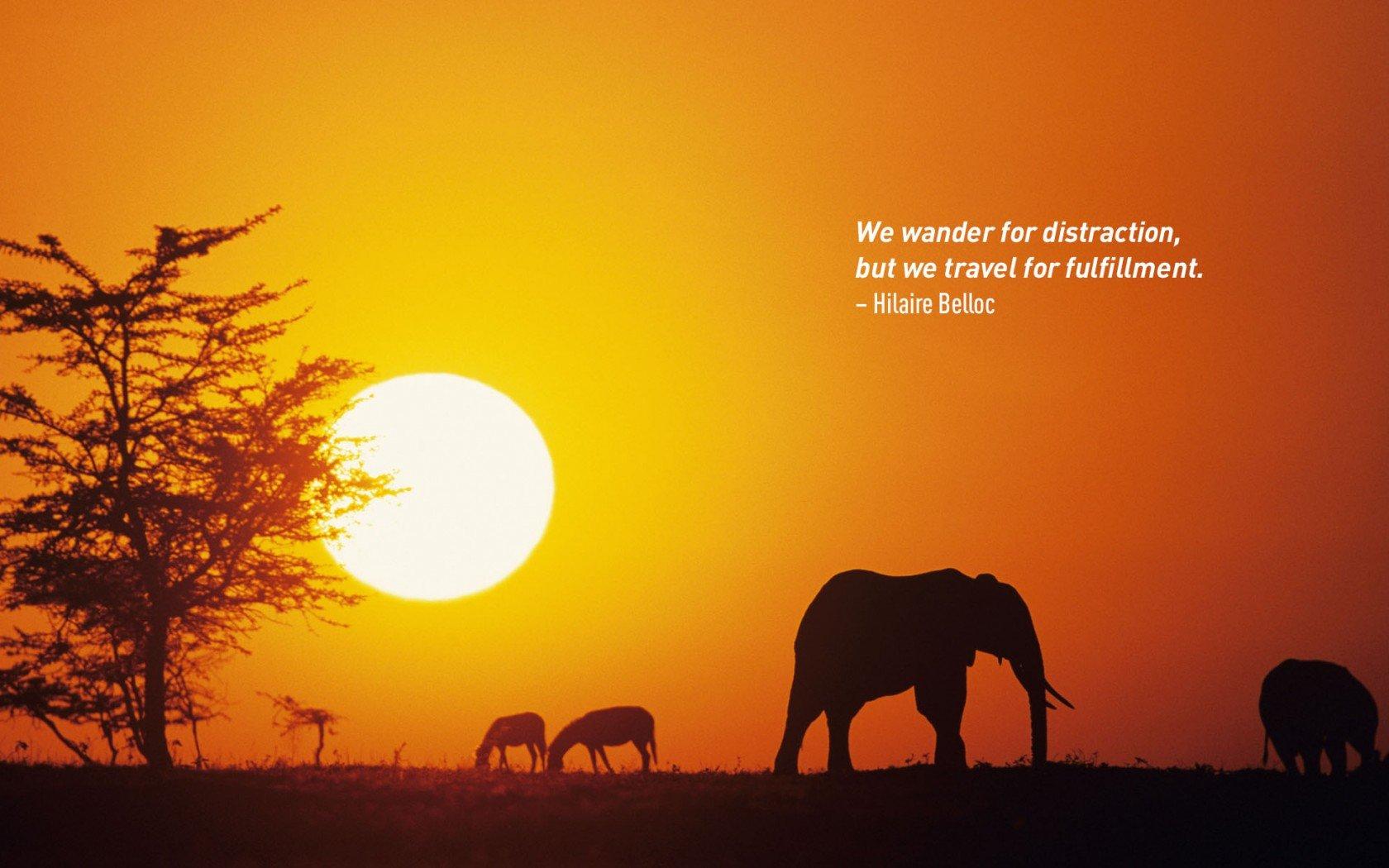 Hilaire Belloc citations de voyage.