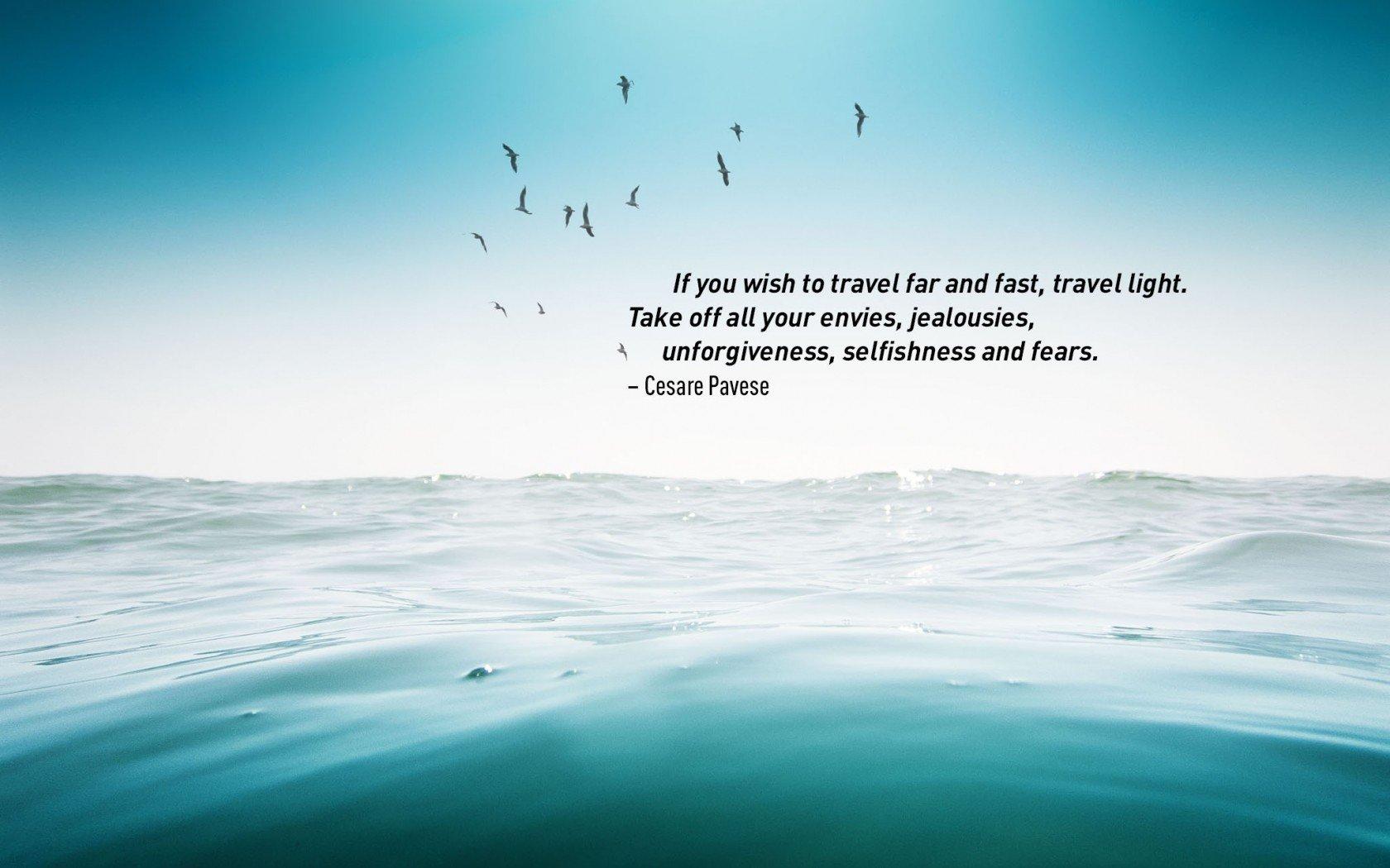 Cesare Pavese, meilleures citations de voyage.