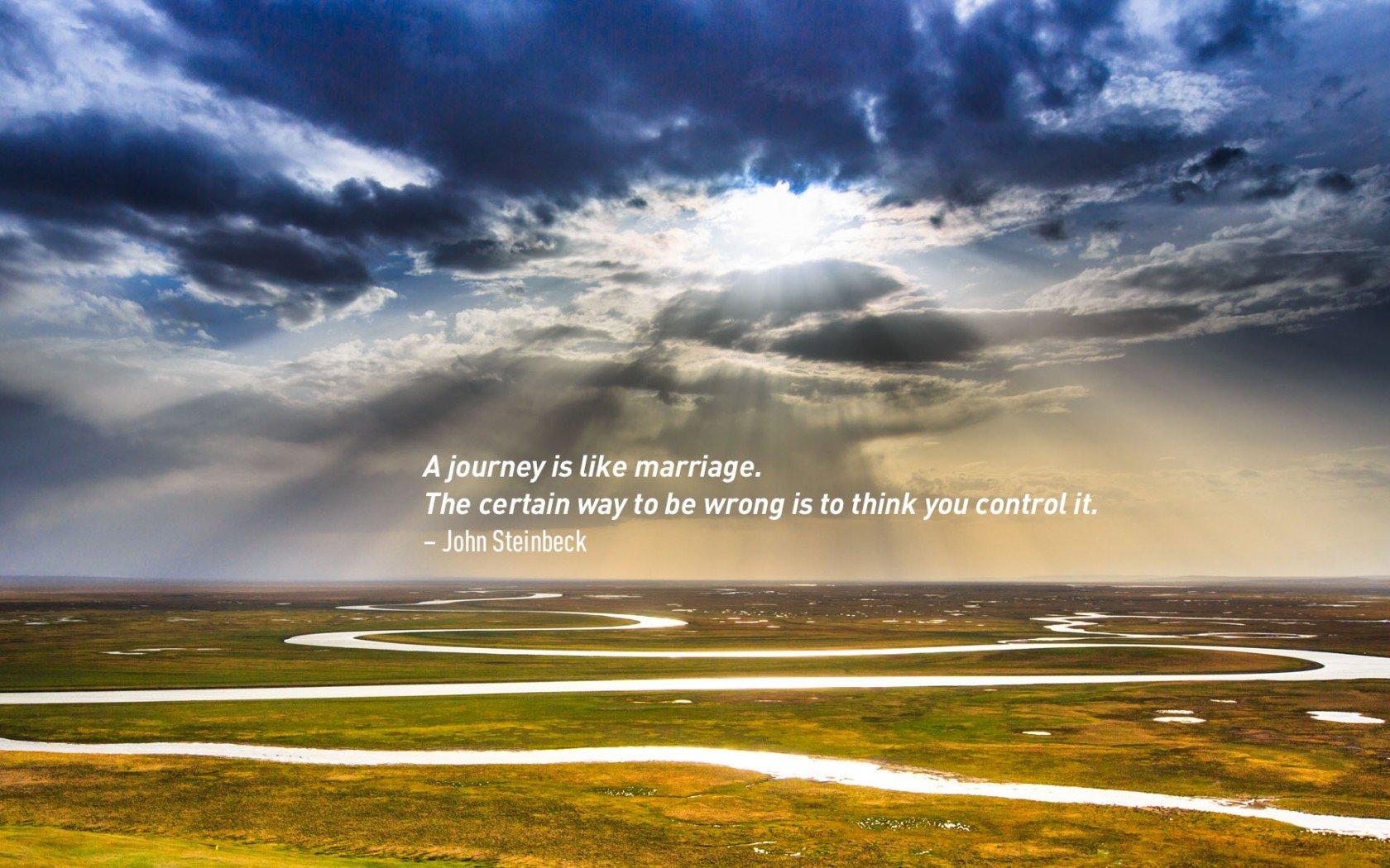 John Steinbeck, meilleures citations sur les voyages.