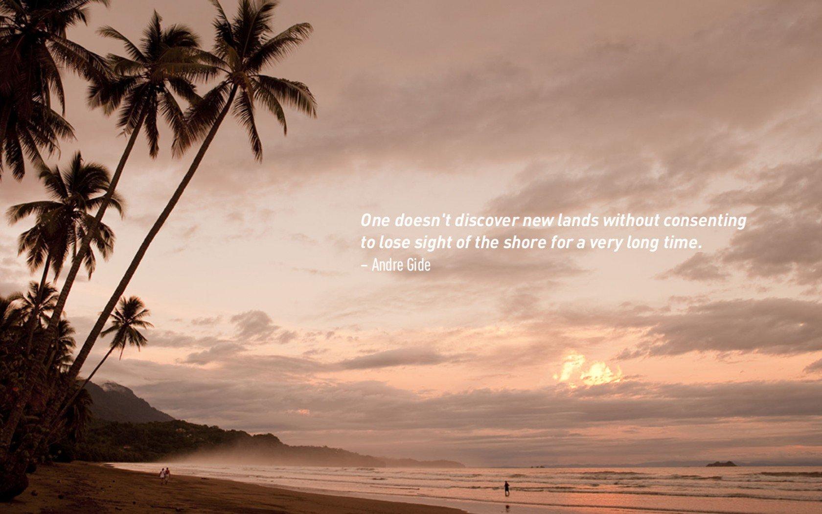Andre Gide, citations de voyage célèbres.
