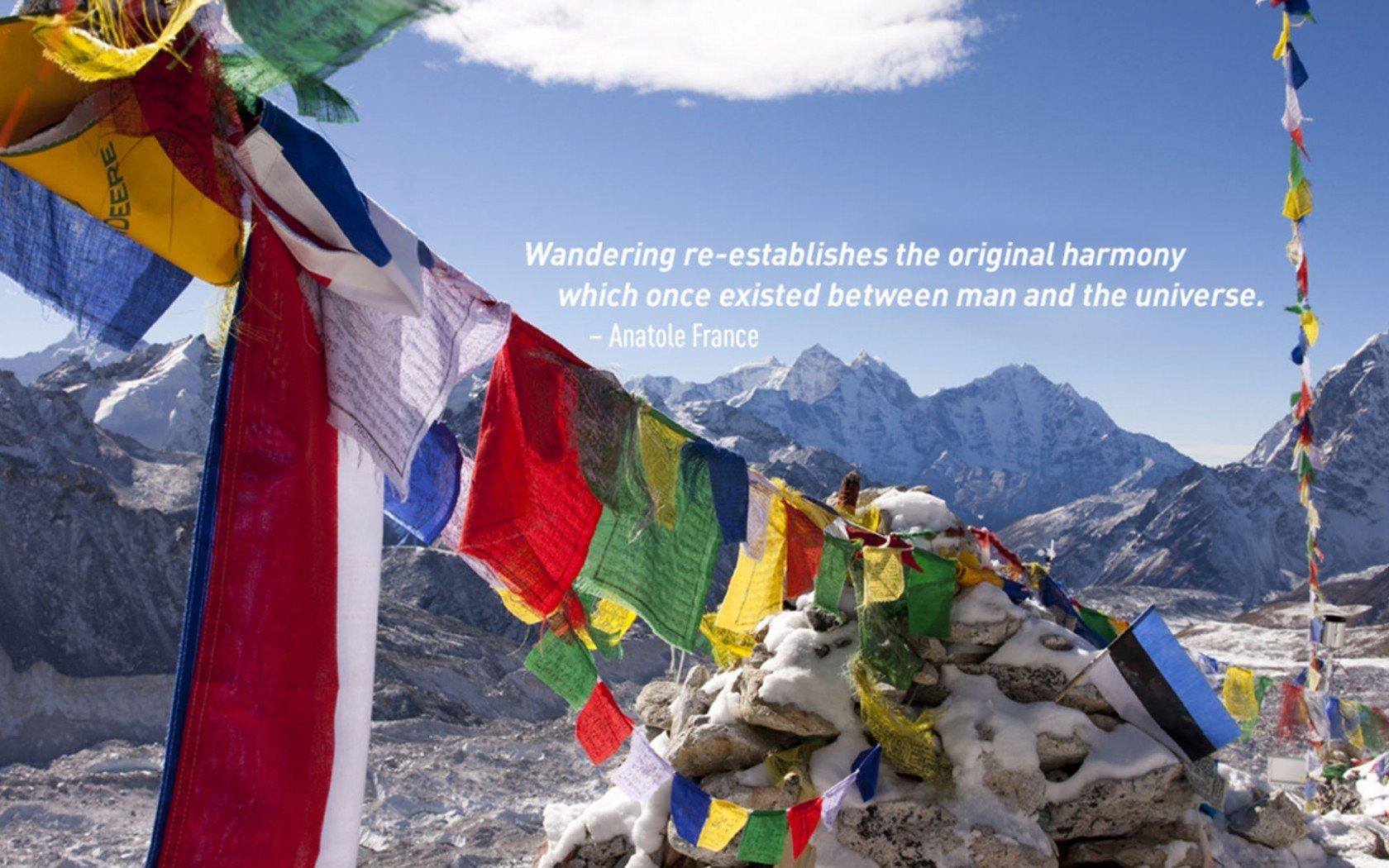 Devis voyage Anatole France. L'Himalaya, Népal.
