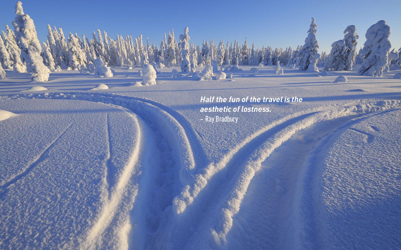 Citation de voyage inspirante de Ray Bradbury.