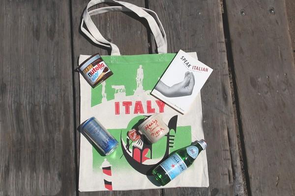 cadeaux invités de fête de mariage destination Italie
