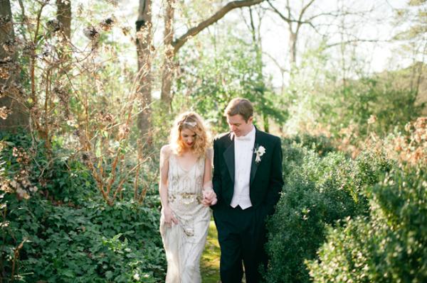 Portrait de mariage Broche Photographie