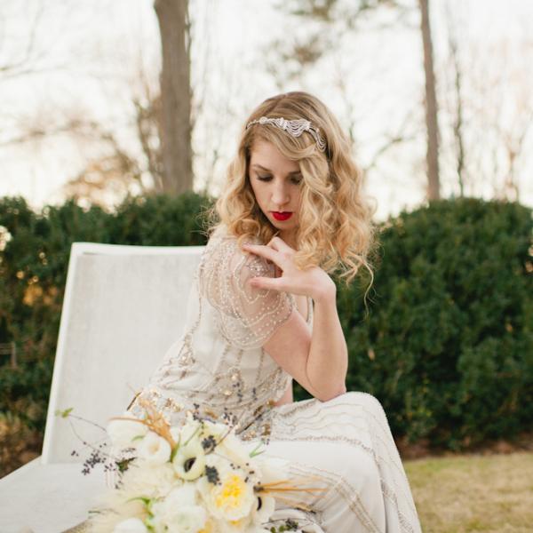 Idées de mariage vintage Art déco
