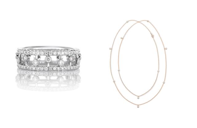 Pieces by De Beers Jewelers qui ont été vendues pendant le verrouillage.