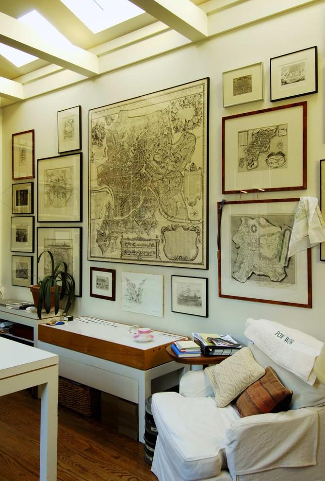 l'affichage de plans de construction vintage est une excellente alternative à l'affichage de cartes anciennes (Hoedemaker Pfeiffer)