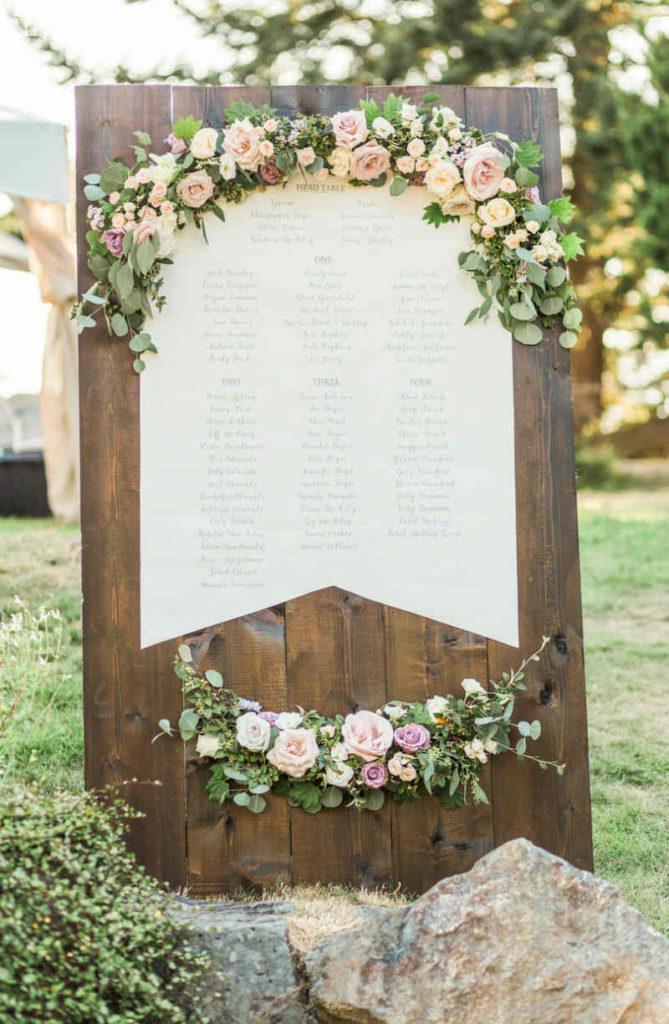 Idées de plan de table floral